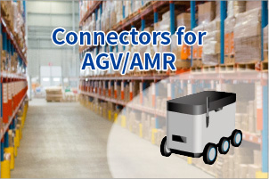 Connectors for AGV/AMR