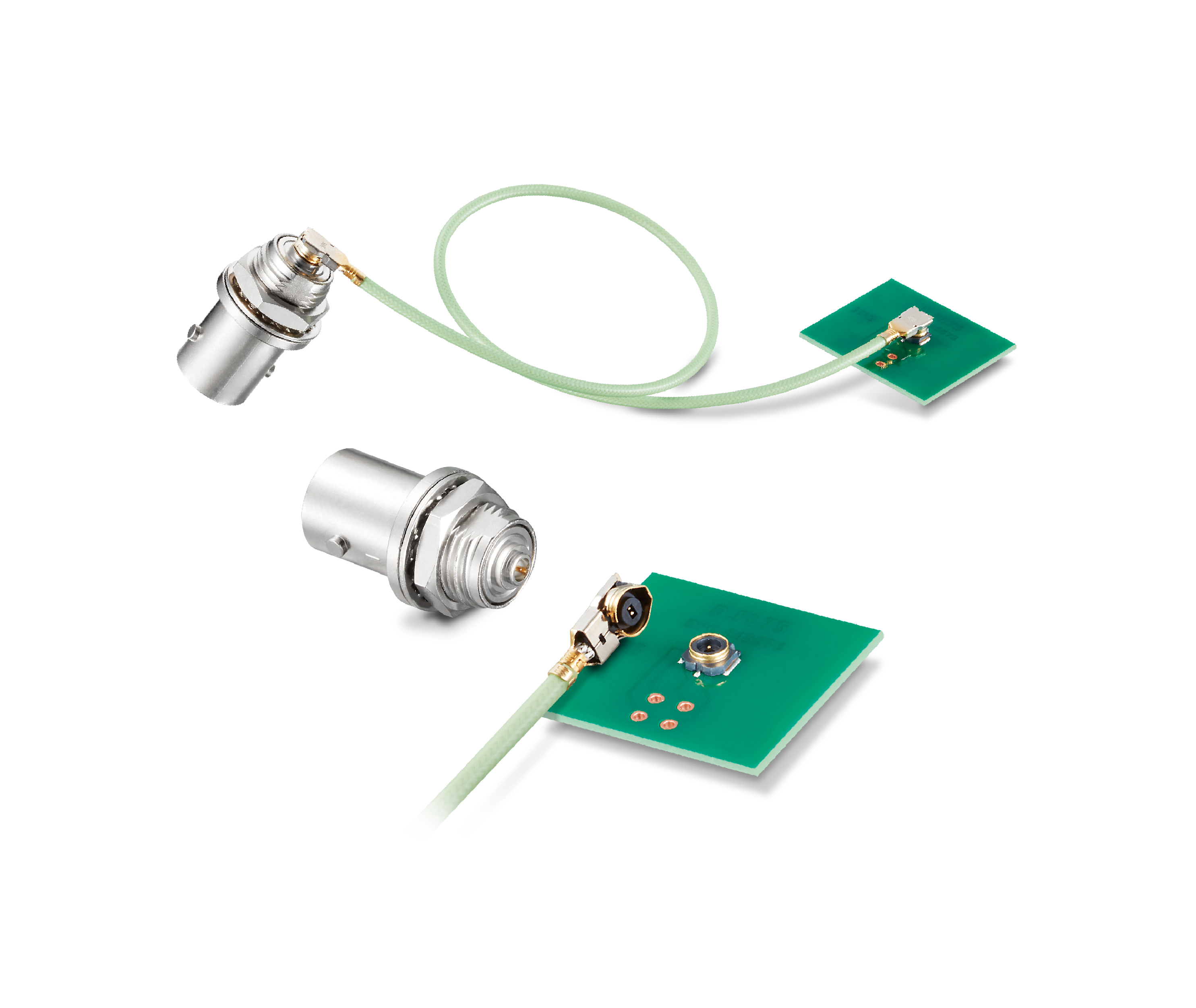 D.FL75 Series: Small 75Ω Coaxial Connector Supporting 12G-SDI