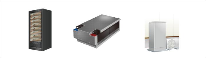 産業用蓄電池、蓄電池用モジュール、燃料電池など