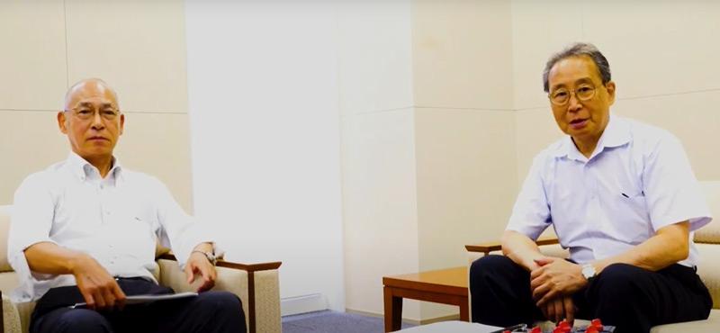 一般社団法人日本配電制御システム工業会  木賊 勝信氏(左)と戸村 雅義氏(右)