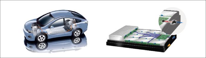バッテリー、車載充電器、各種ECUなどの車載電装品