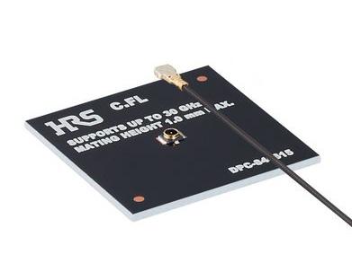 0.92mmハイト、超小型、30GHz対応同軸コネクタ